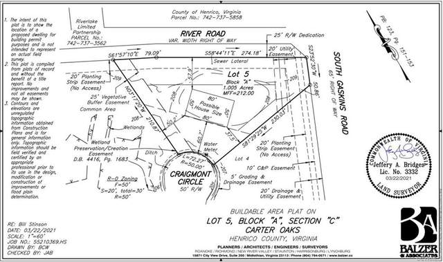 233 Cragmont Circle, Henrico, VA 23238 (MLS #2127036) :: Village Concepts Realty Group
