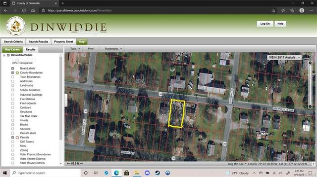 25715 Greensville Avenue, Petersburg, VA 23803 (MLS #2128102) :: Village Concepts Realty Group