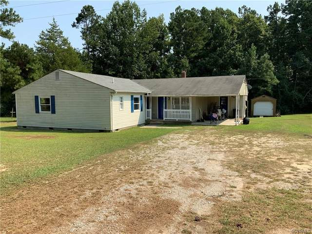 828 Mountain Hall Road, Crewe, VA 23930 (MLS #2128459) :: Village Concepts Realty Group