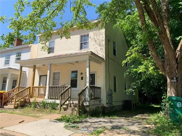 14 S Chappell Street, Petersburg, VA 23803 (MLS #2128738) :: Village Concepts Realty Group