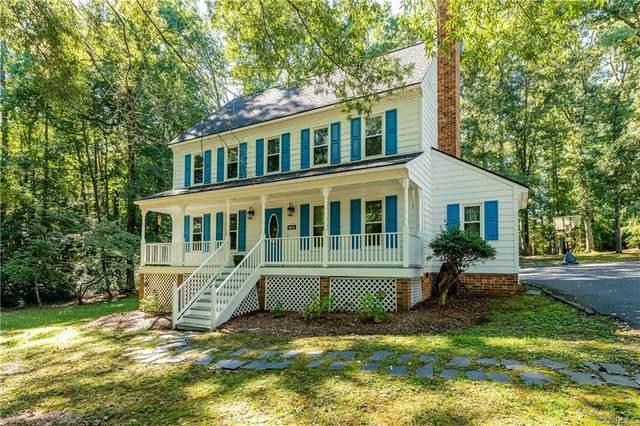 4010 Hunters Ridge Drive, Moseley, VA 23120 (MLS #2129506) :: Treehouse Realty VA