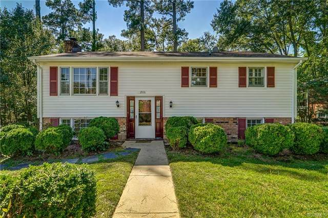 206 Nottingham Drive, Colonial Heights, VA 23834 (#2129533) :: The Bell Tower Real Estate Team