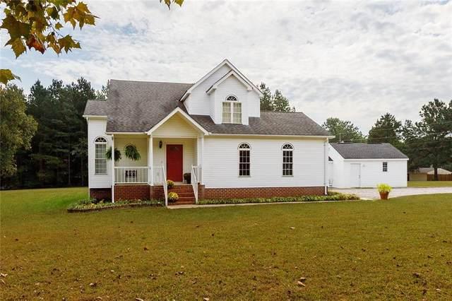 17301 Loving Union Road, Disputanta, VA 23842 (MLS #2130801) :: Village Concepts Realty Group