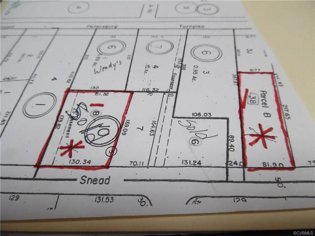 Lot 3B Snead Avenue, Colonial Heights, VA 23834 (MLS #1813803) :: RE/MAX Action Real Estate