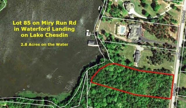 Lot 85 Miry Run Road, Sutherland, VA 23885 (#1907736) :: Abbitt Realty Co.