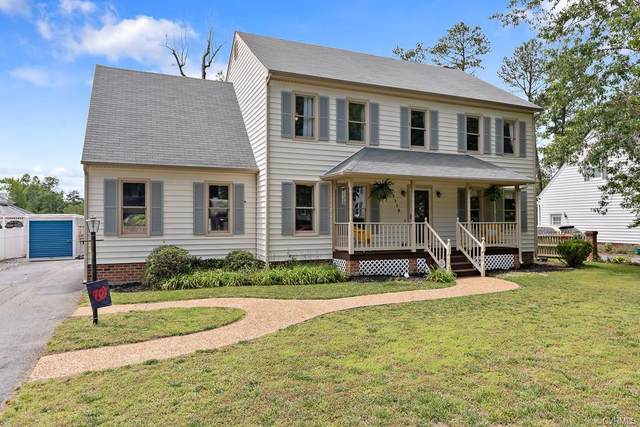 1112 S Wedgemont Drive, North Chesterfield, VA 23236 (MLS #2015198) :: EXIT First Realty