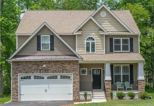 6231 Bushnell Drive, New Kent, VA 23124 (MLS #2035685) :: Village Concepts Realty Group