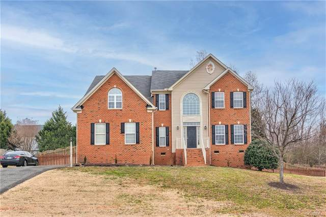 112 Point Hollow Place, Henrico, VA 23227 (MLS #2100459) :: Village Concepts Realty Group