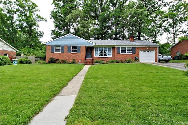 204 Homestead Drive, Colonial Heights, VA 23834 (MLS #2106666) :: The Redux Group