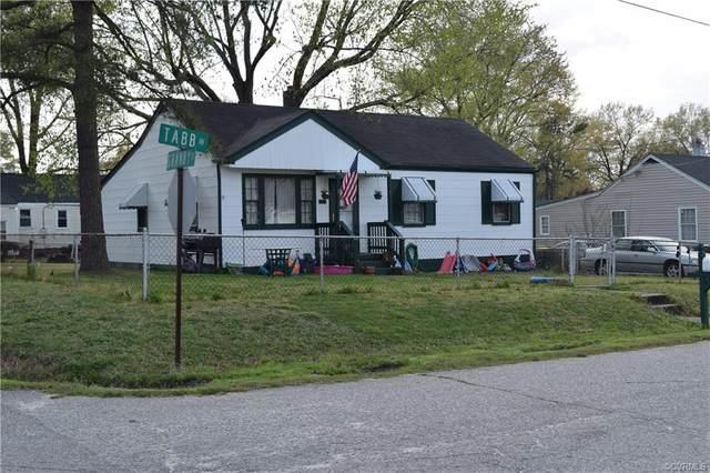 1206 Tabb Avenue, Hopewell, VA 23860 (MLS #2109509) :: The Redux Group