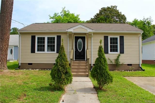 2401 Grant Street, Hopewell, VA 23860 (MLS #2117353) :: The RVA Group Realty