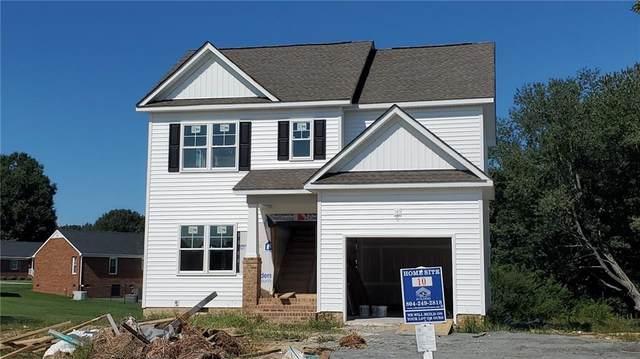 9014 Rutland Road, Mechanicsville, VA 23116 (MLS #2100289) :: Village Concepts Realty Group