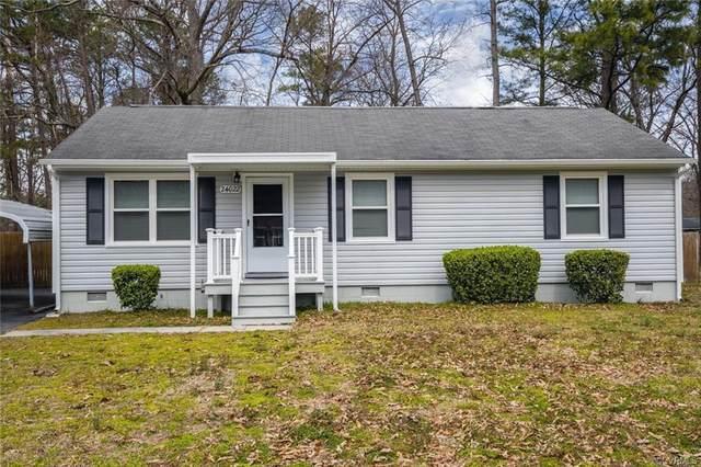 24022 Bancroft Drive, Dinwiddie, VA 23803 (MLS #2001097) :: Small & Associates