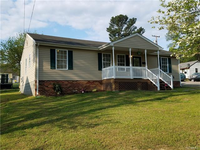 520 Columbia Road, Petersburg, VA 23803 (MLS #1713739) :: The RVA Group Realty