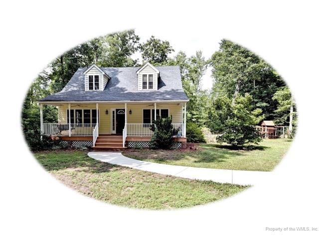11326 Carriage Road, Providence Forge, VA 23140 (MLS #1722852) :: The Ryan Sanford Team