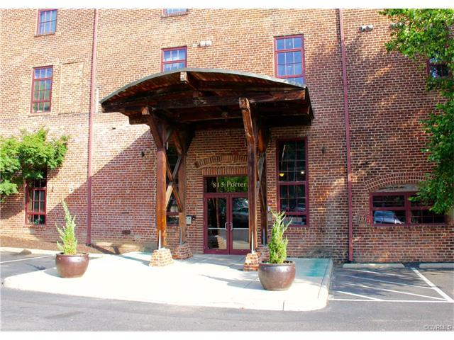 815 Porter Street U317, Richmond, VA 23224 (MLS #1726667) :: The RVA Group Realty