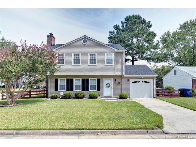 937 Red Oak Circle, Newport News, VA 23608 (#1726722) :: Abbitt Realty Co.