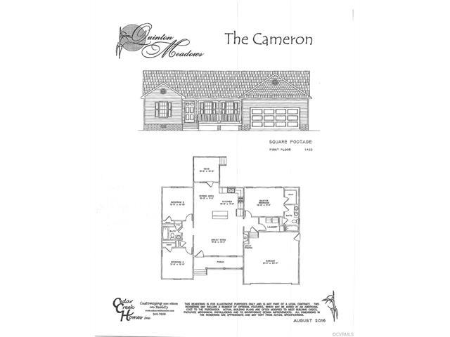 Tba Crumps Run Court, Quinton, VA 23141 (MLS #1731190) :: Chantel Ray Real Estate
