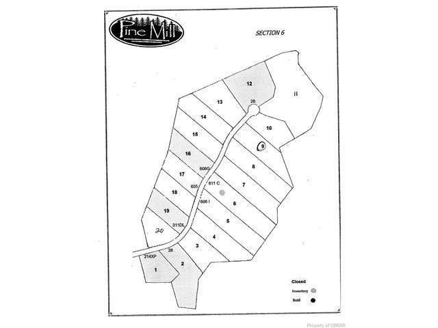 Lot 9 Poplar Ridge Drive, Gloucester, VA 23061 (#1733424) :: Green Tree Realty