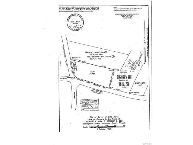 2354 N Fairground Road, Maidens, VA 23102 (MLS #1736595) :: The Ryan Sanford Team