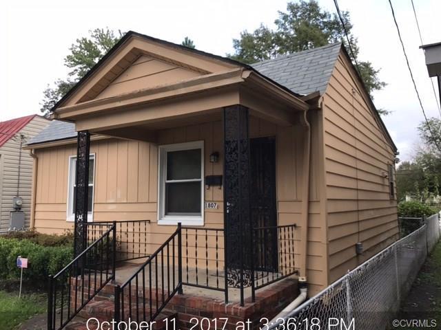 1807 N 22nd Street, Richmond, VA 23223 (MLS #1737287) :: The RVA Group Realty