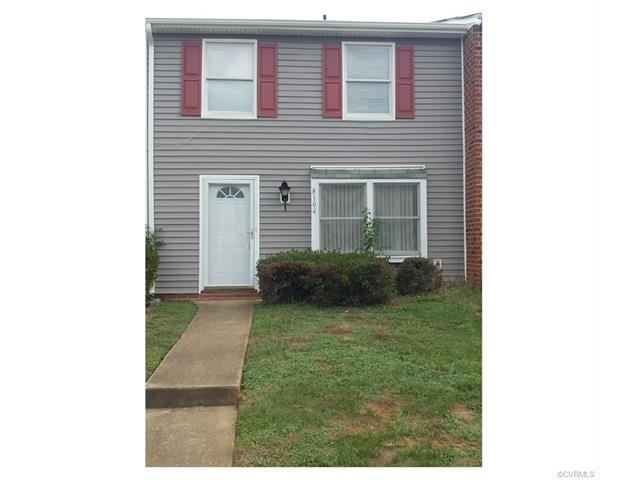 8104 Clovertree Court #8104, Chesterfield, VA 23235 (MLS #1737520) :: The RVA Group Realty