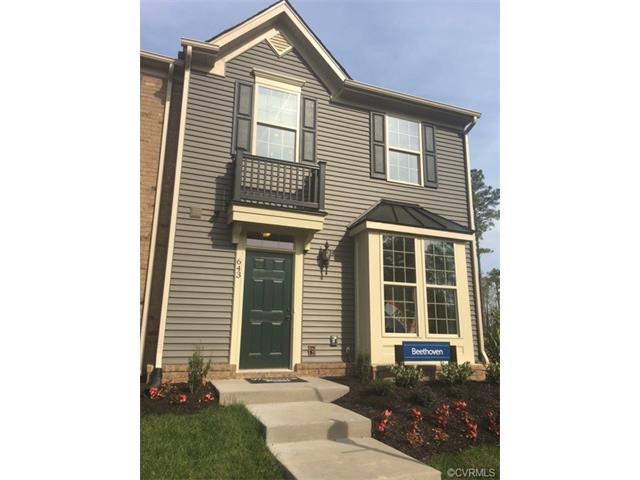 100 Cottage Rose Lane T-B, Henrico, VA 23223 (#1737522) :: Abbitt Realty Co.