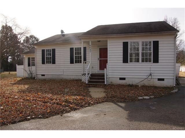 6647 Elkhardt Road, North Chesterfield, VA 23225 (MLS #1801112) :: EXIT First Realty