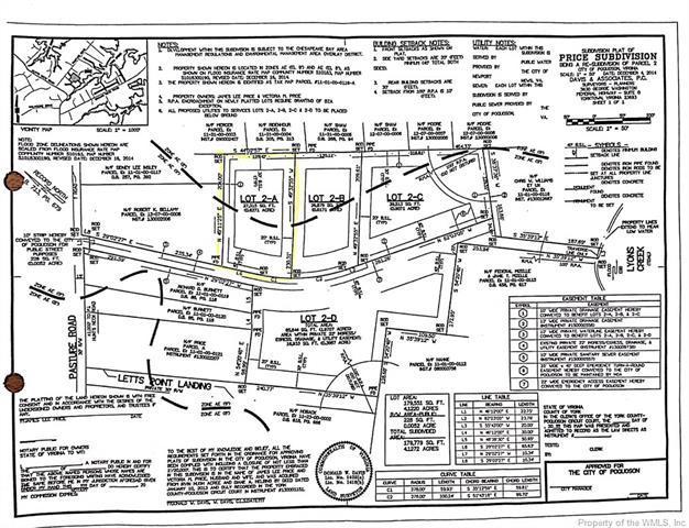 Lot 2A Pasture Road, Poquoson, VA 23662 (MLS #1809727) :: RE/MAX Action Real Estate