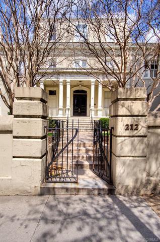 212 W Franklin Street #207, Richmond, VA 23220 (MLS #1810619) :: The Ryan Sanford Team