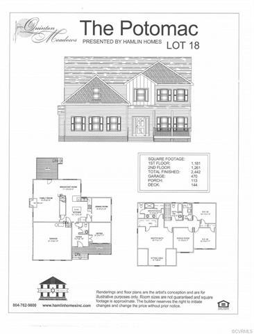Lot 5 Davis Glade Court, Quinton, VA 23141 (MLS #1812789) :: Chantel Ray Real Estate