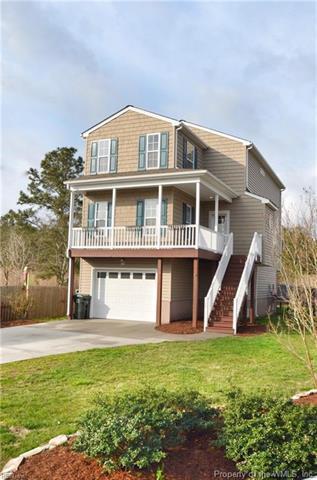 164 Ridge Road, Poquoson, VA 23662 (MLS #1813366) :: Chantel Ray Real Estate