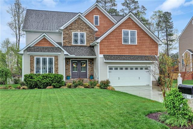9201 Sir Britton Drive, Chesterfield, VA 23832 (MLS #1813367) :: The RVA Group Realty