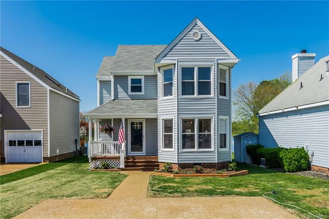 7816 Breaker Point Court, Chesterfield, VA 23832 (MLS #1814005) :: The RVA Group Realty