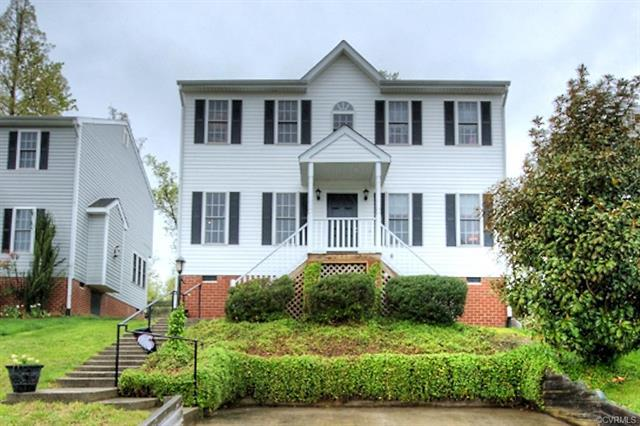 512 Village Gate Drive, Chesterfield, VA 23114 (MLS #1814538) :: The RVA Group Realty