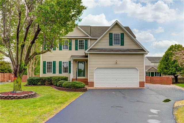 6345 Rolling Lawn Court, Mechanicsville, VA 23111 (MLS #1814570) :: RE/MAX Commonwealth