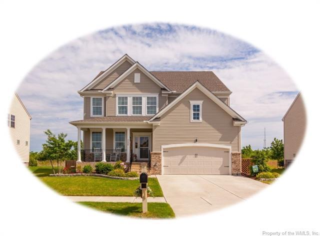 3220 Leighton Boulevard, Toano, VA 23168 (MLS #1818088) :: RE/MAX Action Real Estate