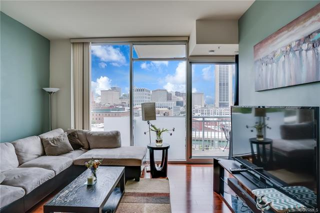 301 Virginia Street U909, Richmond, VA 23219 (MLS #1818213) :: Chantel Ray Real Estate
