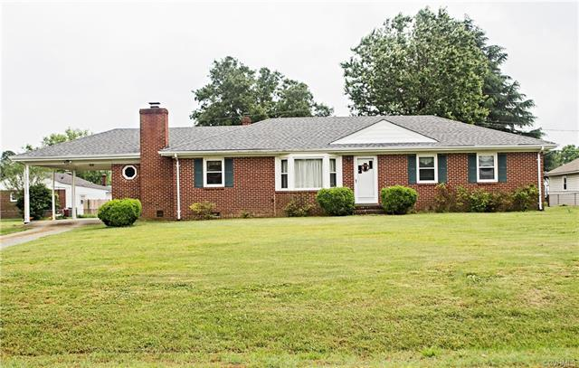 7387 Stuart Drive, Mechanicsville, VA 23111 (MLS #1819733) :: The Ryan Sanford Team