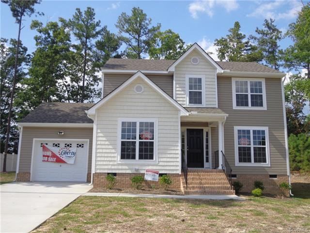 1906 Riggers Station Drive, Chesterfield, VA 23834 (#1823504) :: Abbitt Realty Co.