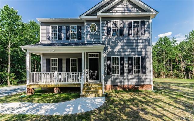 8615 Rock Cedar Road, New Kent, VA 23124 (MLS #1824288) :: The RVA Group Realty