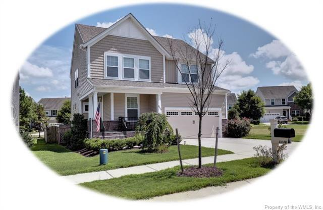 8440 Sheldon Branch Place, Toano, VA 23168 (MLS #1827531) :: The RVA Group Realty