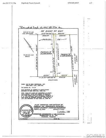 00B Arrowhead Road, Hanover, VA 23111 (#1830916) :: Abbitt Realty Co.