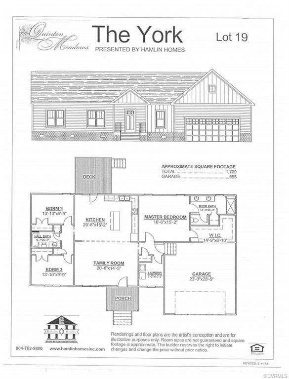 Lot 19 Davis Glade Court, Quinton, VA 23141 (#1834260) :: Abbitt Realty Co.