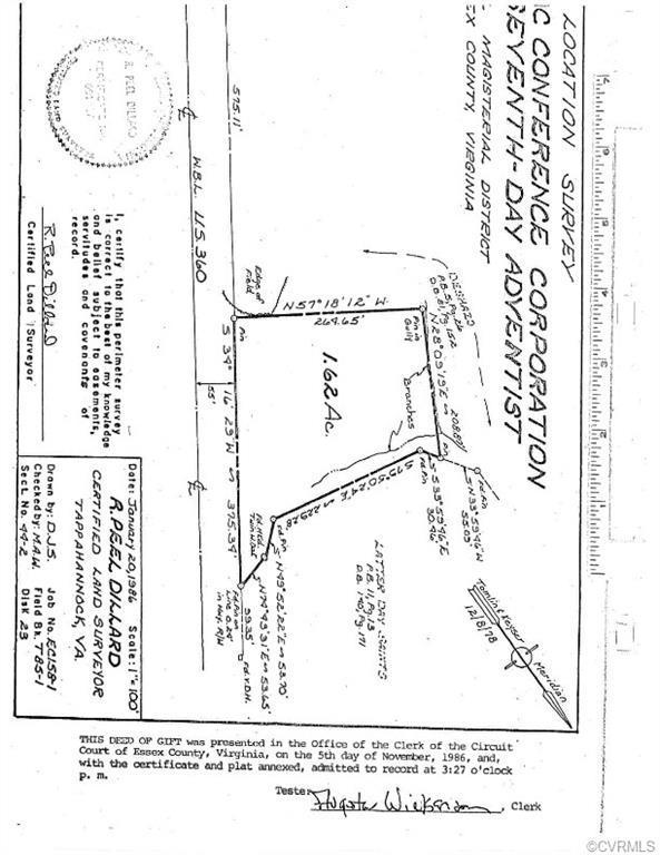 0 Richmond Hwy Rt 360, Tappahannock, VA 22546 (#1838480) :: Abbitt Realty Co.