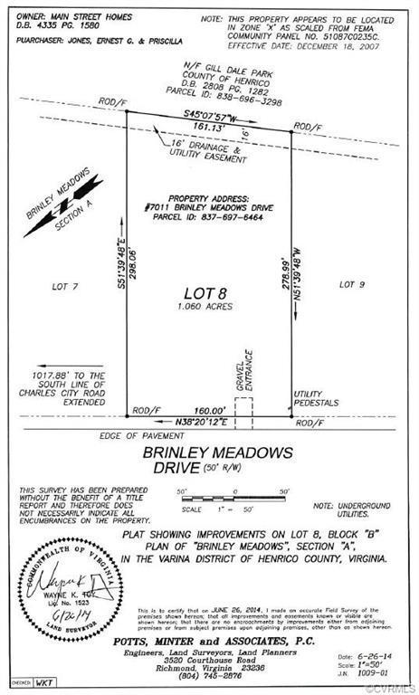 7011 Brinley Meadows Drive, Henrico, VA 23231 (#1838708) :: Abbitt Realty Co.