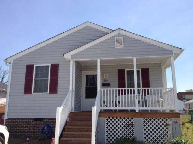 844 Miller Street, Petersburg, VA 23803 (#1839085) :: Abbitt Realty Co.