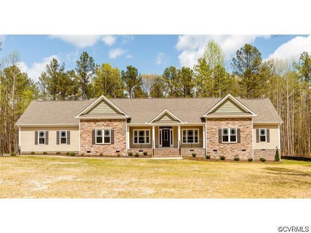 6316 Glebe Hill Road, Mechanicsville, VA 23116 (#1839326) :: Abbitt Realty Co.