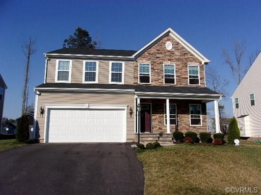8807 Proctors Run Drive, Chesterfield, VA 23237 (MLS #1901832) :: RE/MAX Action Real Estate