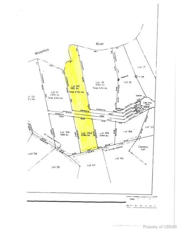 0 Lakeview, Heathsville, VA 22473 (#1903355) :: Abbitt Realty Co.
